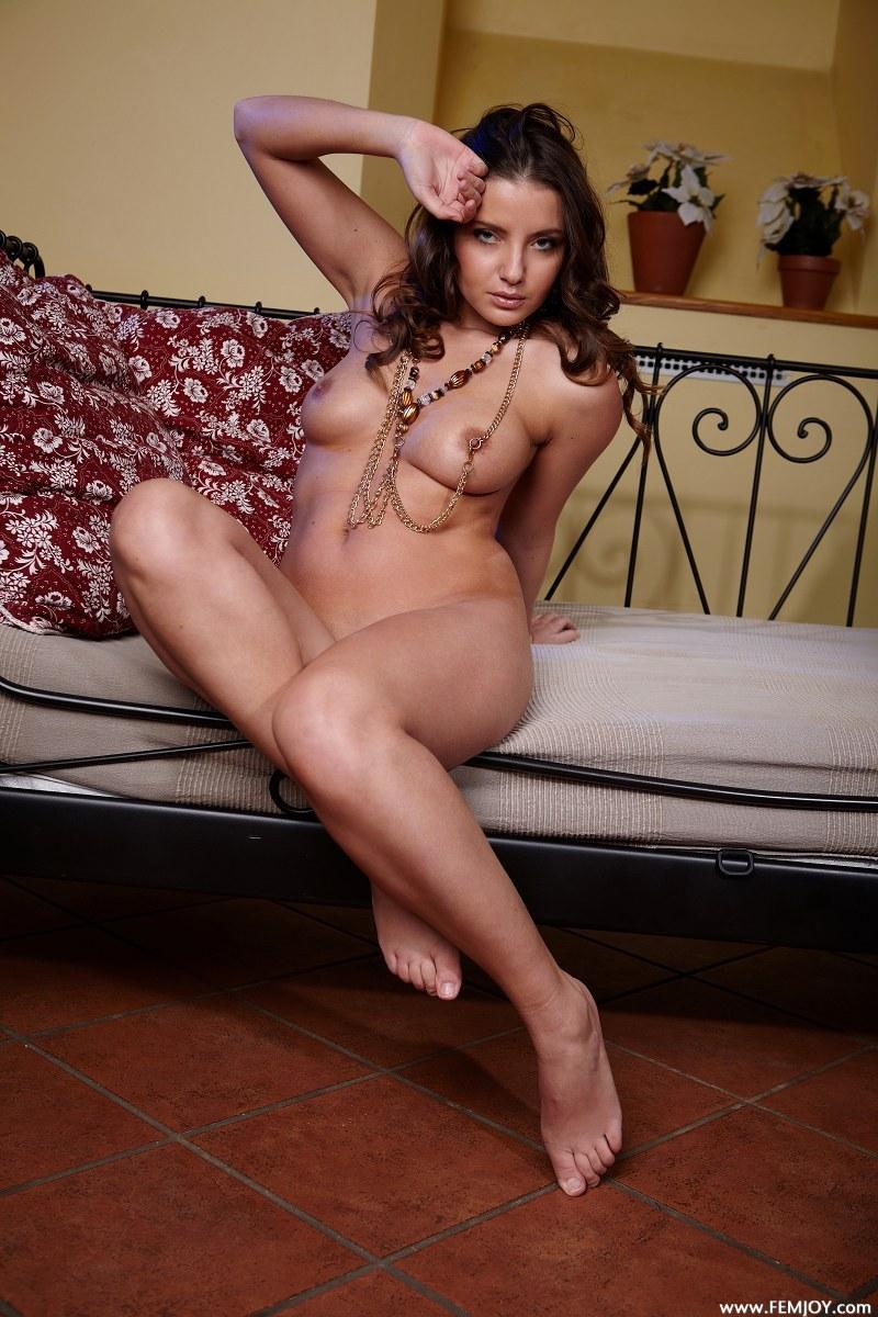 Astonishing chick is posing naked - Barbora E  - 2