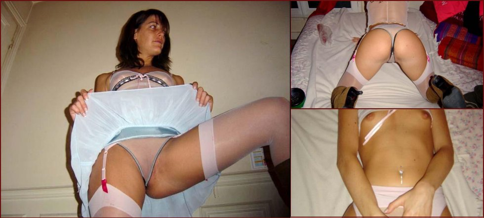 Amateur wife striping