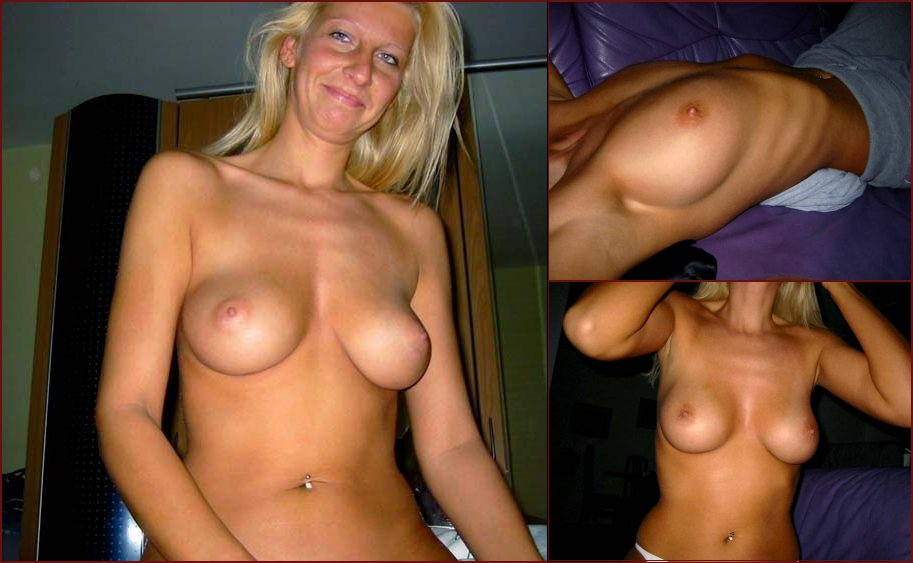 Busty milf gets naked for sex - 30