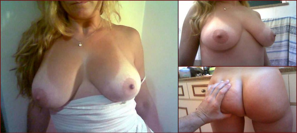 Anonymous wife is showing all goods - 25