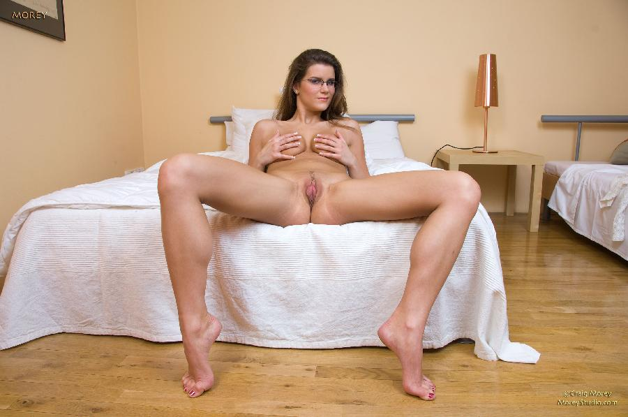 Sexy girl in glasses goes wild - Emurice - 7