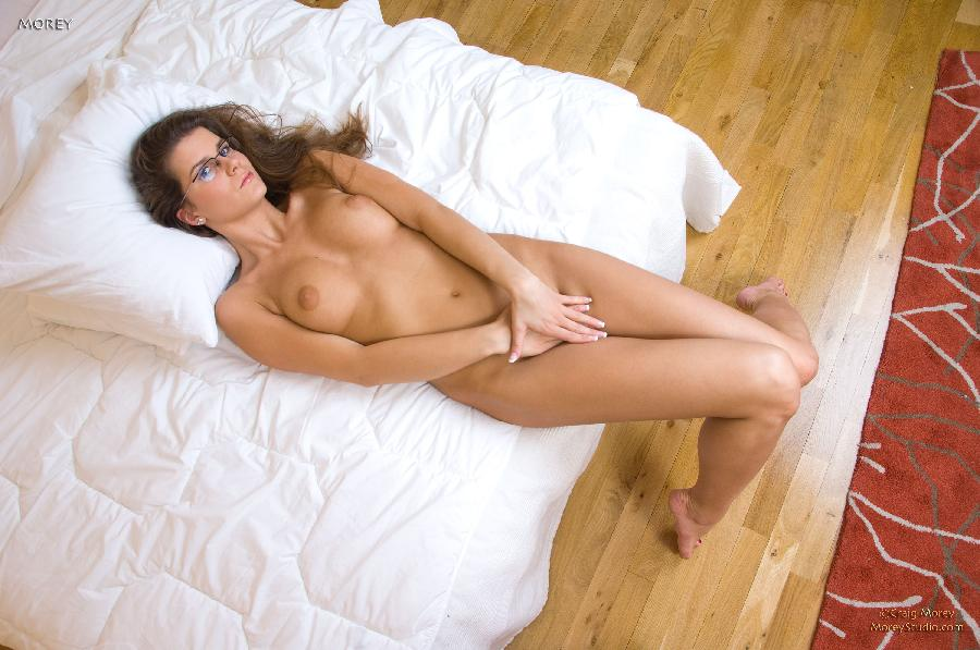 Sexy girl in glasses goes wild - Emurice - 8