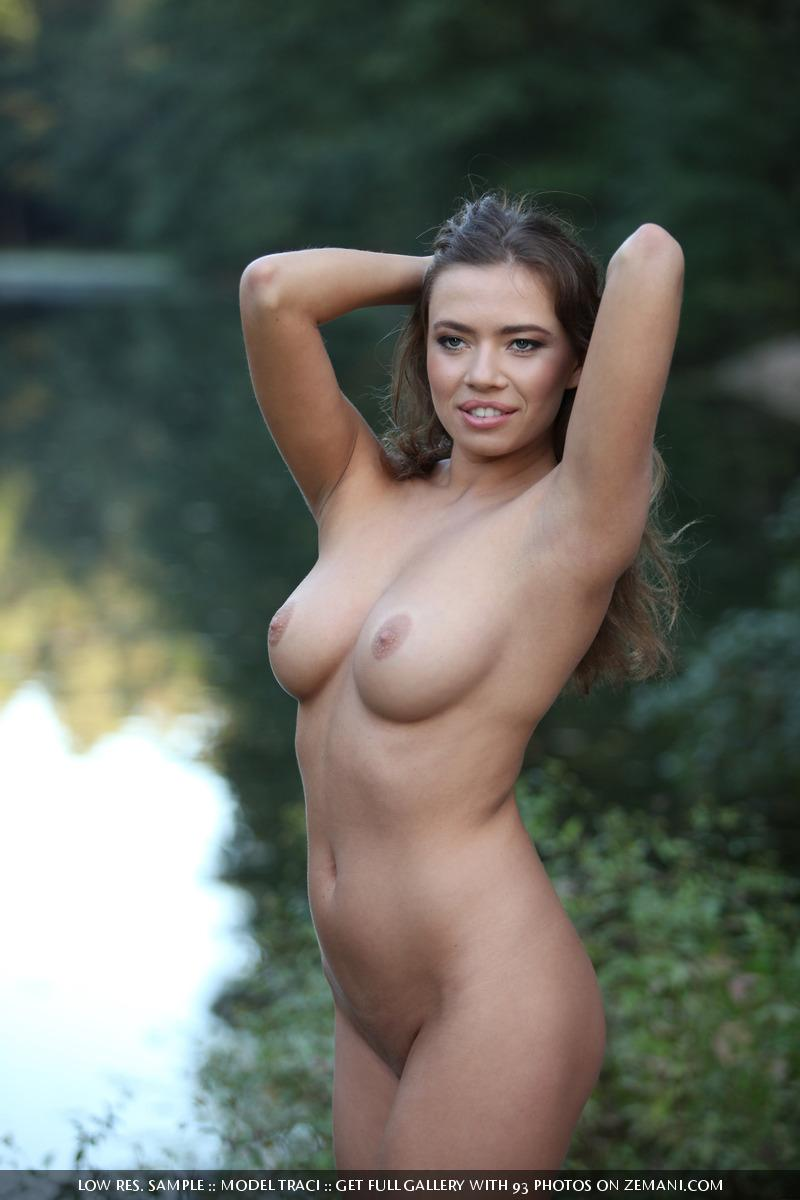 Naked and magic girl near the lake - Traci - 15