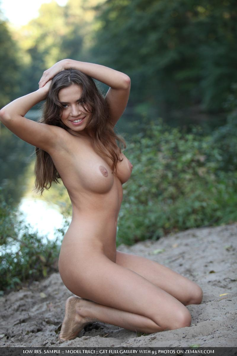 Naked and magic girl near the lake - Traci - 3