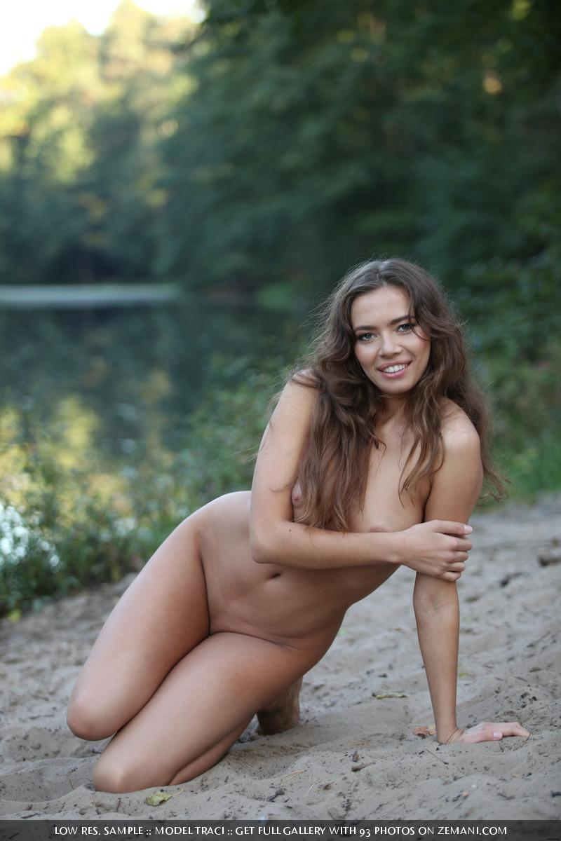 Naked and magic girl near the lake - Traci - 6
