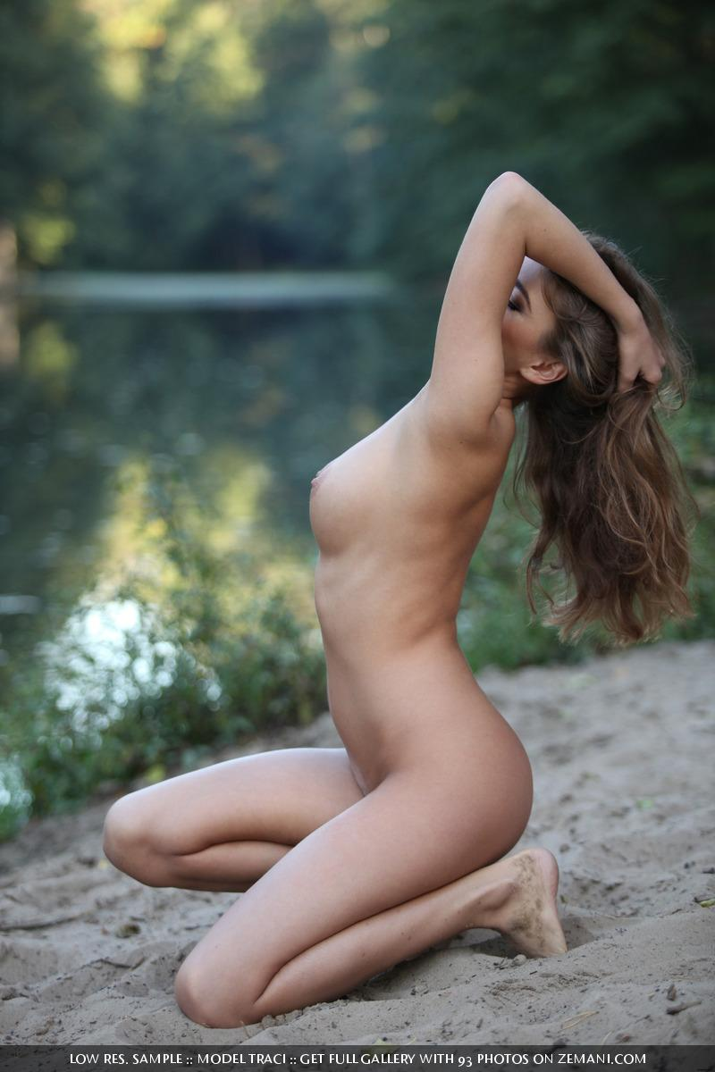 Naked and magic girl near the lake - Traci - 9