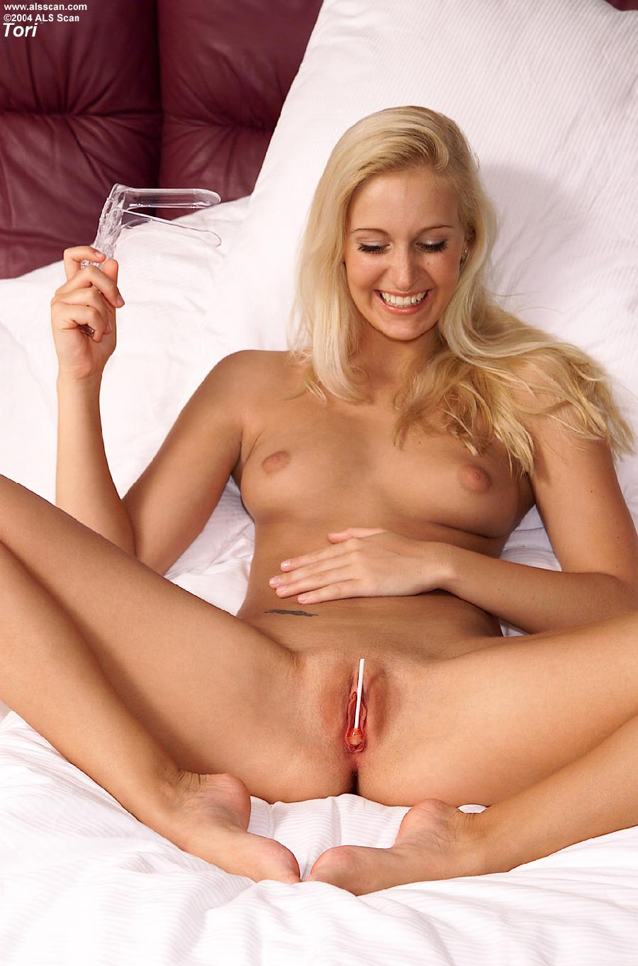 Blonde local pussy