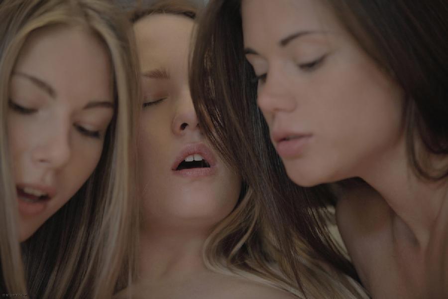 Three young beautiful girls - Leila & Caprice & Angelica - 8