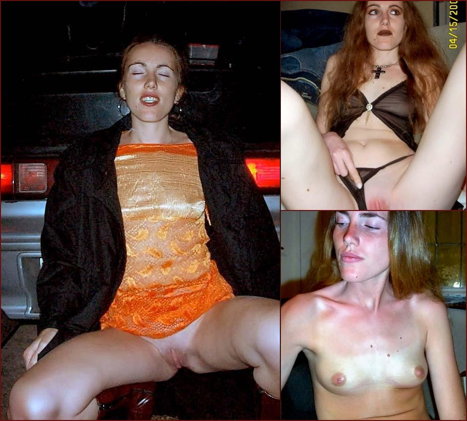 Skinny girl is presenting her nature - 43