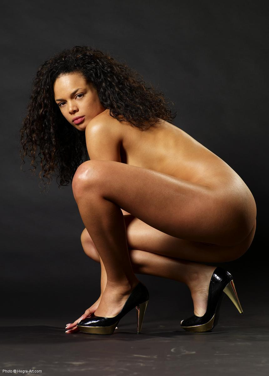 Black high heels and nude - Gabriella - 11