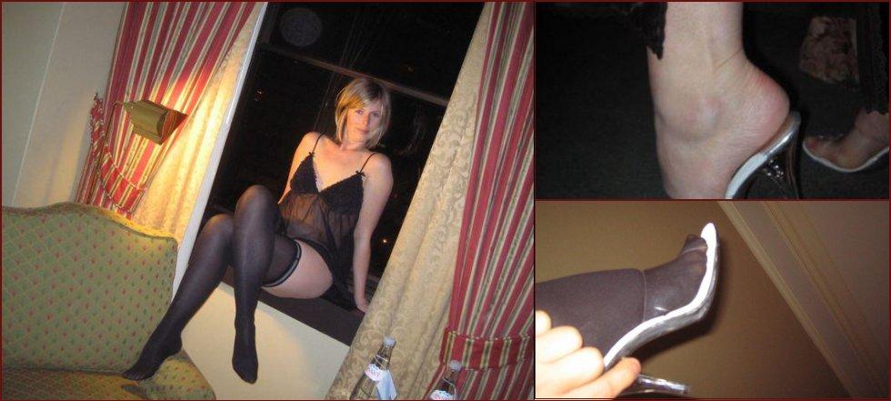 Sexy milf in high heels - 36