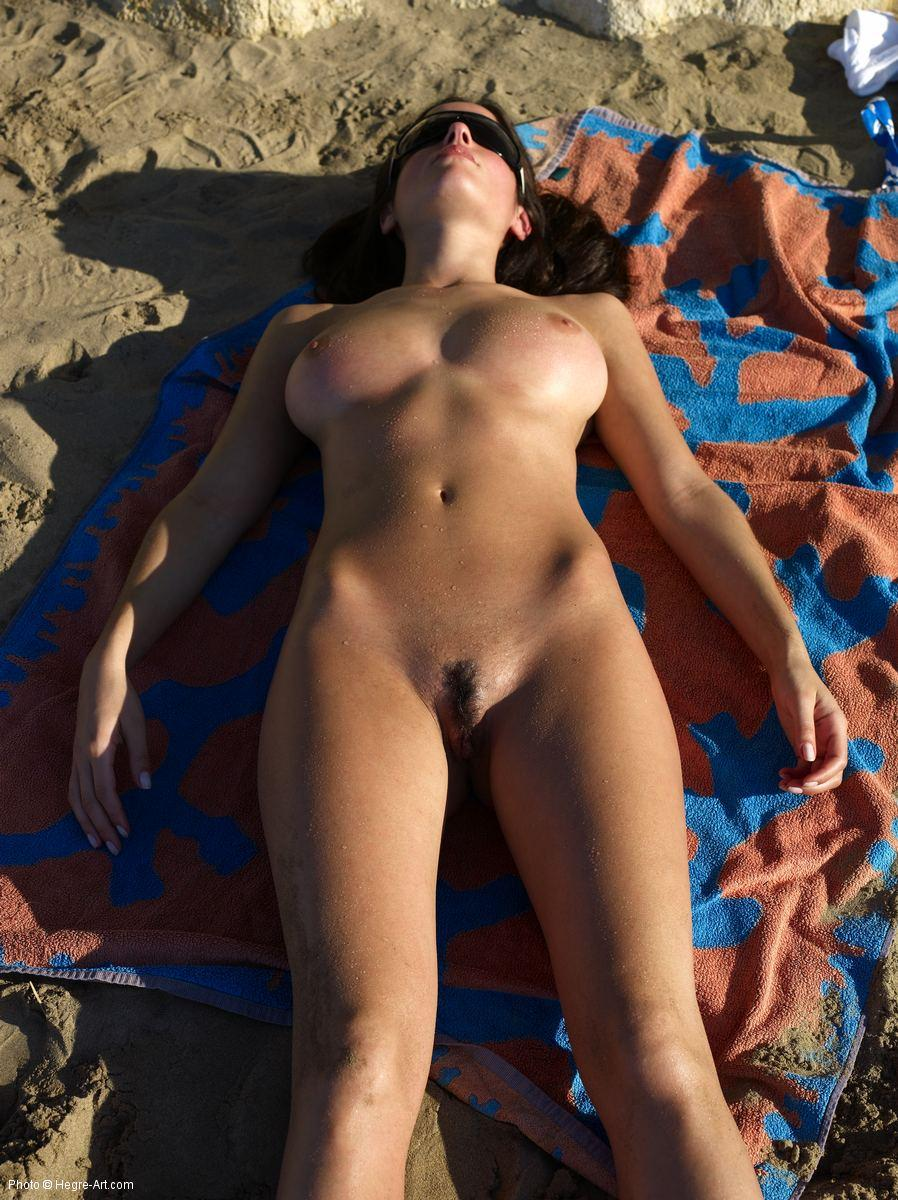 Naked women sunbathing nude sorry