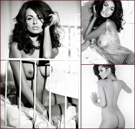 Natalia Siwiec in black and white - 32