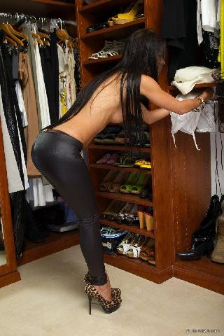 In the wardrobe - Melisa