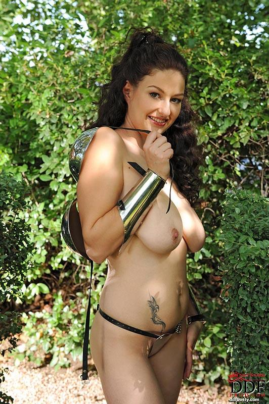 Crazy gardener or busty garden warrior - Sandy - 7