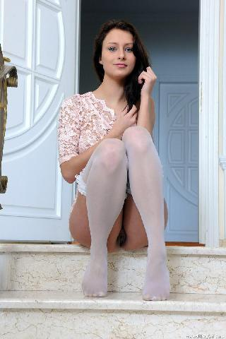 Marvelous young girl on stairs - Yarina P