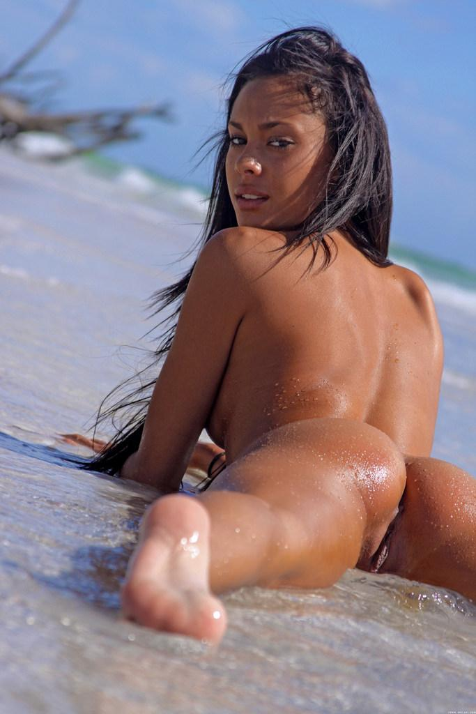 Sexy latina on the beach - Danica - 9