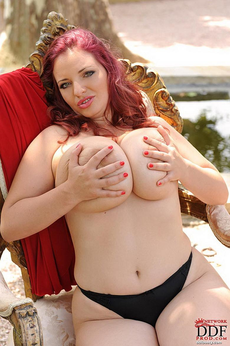 Redhead bitch with huge tits - Terry Nova - 7