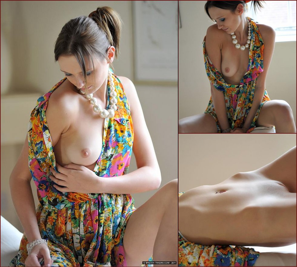 Magnificent girl shows her natural beauty - Chloe Smith - 38