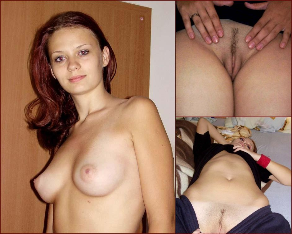 Pretty redhead is showing everything - 39