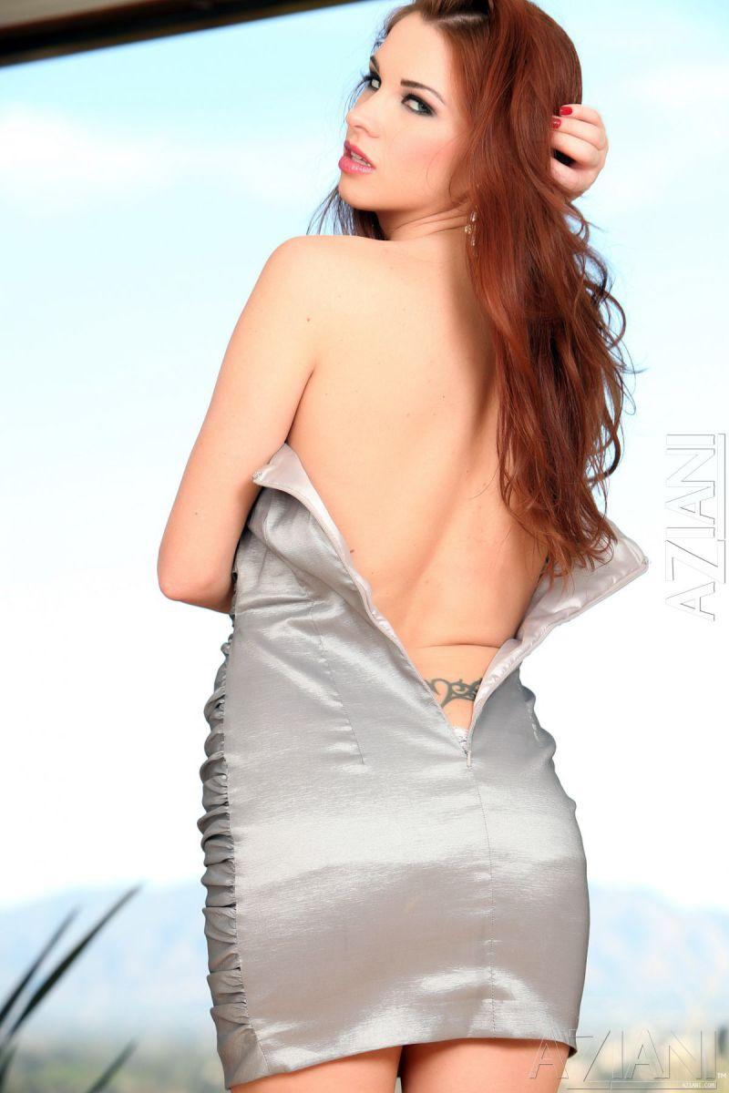 Fiery redhead and dildo - Sabrina Maree - 1