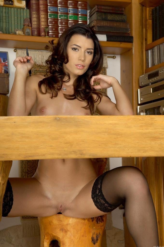 Very sexy chick on table - Betty C - 11