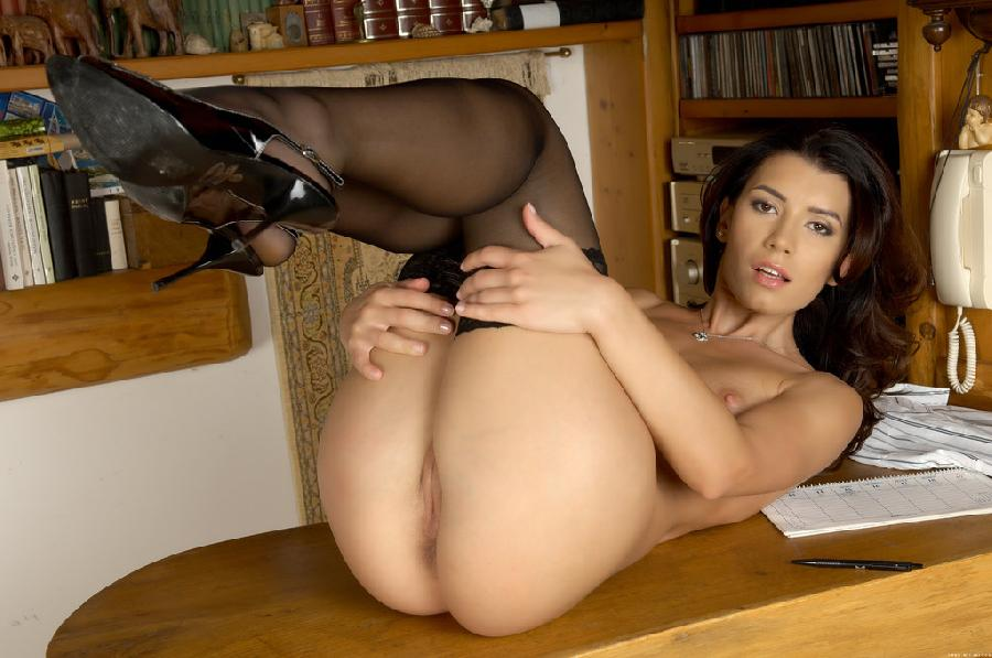 Very sexy chick on table - Betty C - 5