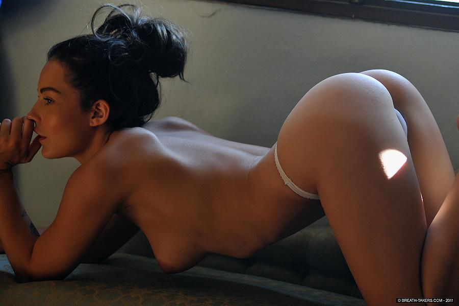 Naked and tanned Kayleigh - 2