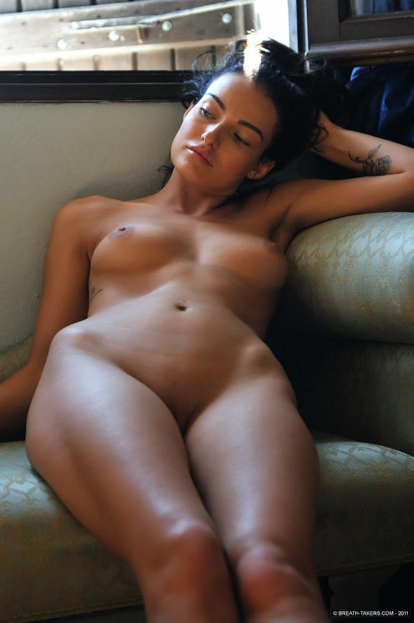 Naked and tanned Kayleigh - 7