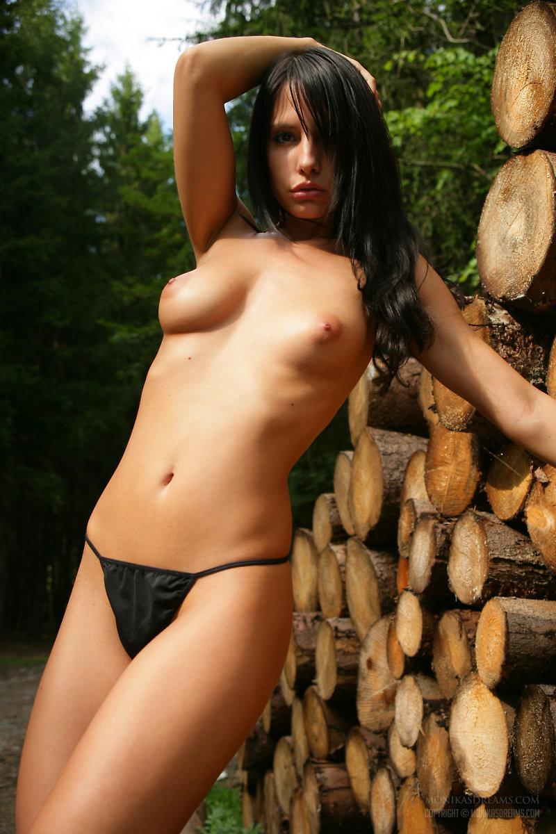 In forest with Monika Vesela - 4