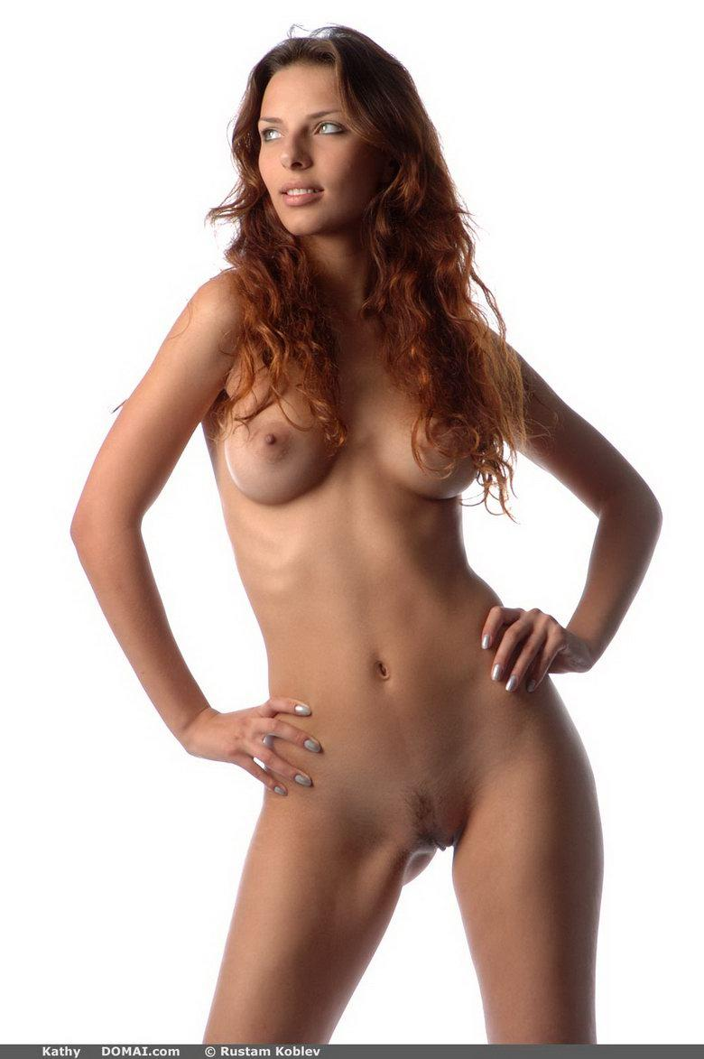 Amazing redhead in studio - Kathy - 4