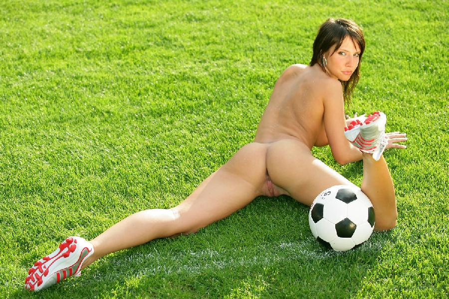 Marvelous girl loves football - Monika Vesela - 11