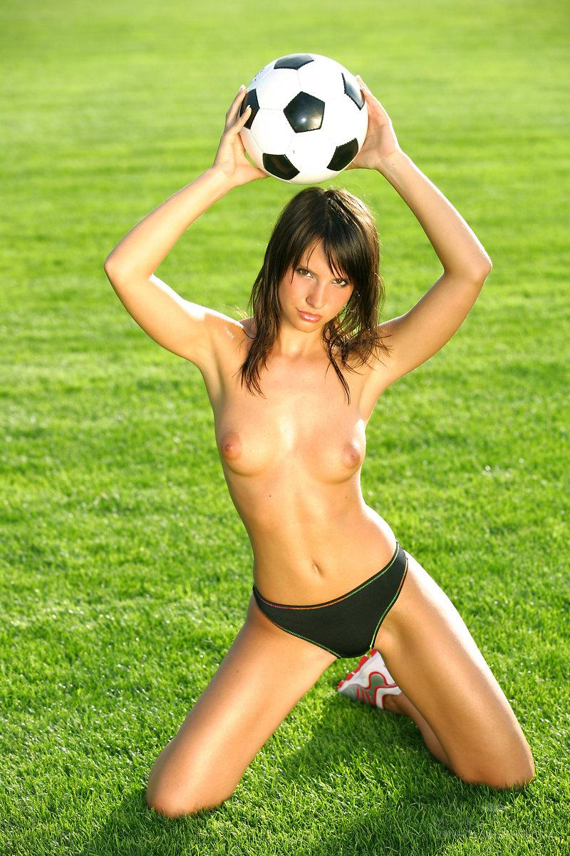 Marvelous girl loves football - Monika Vesela - 2
