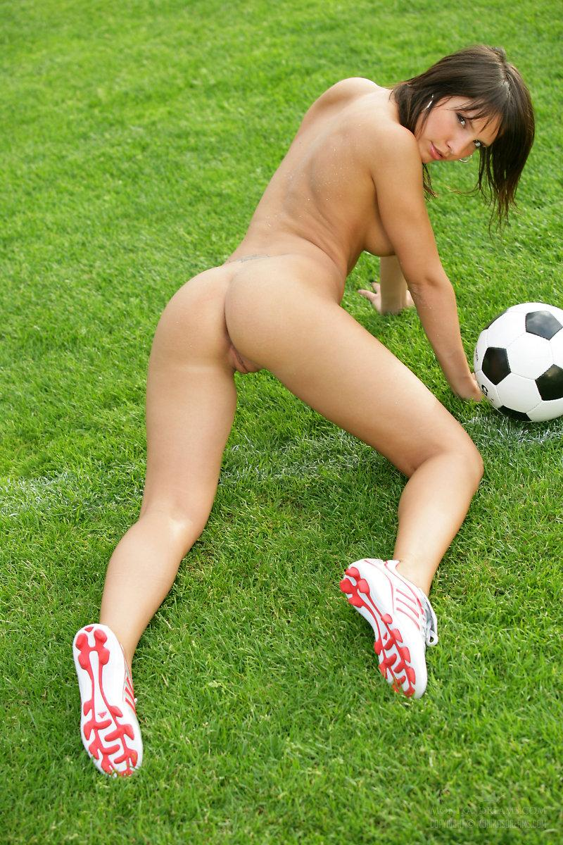 Marvelous girl loves football - Monika Vesela - 9