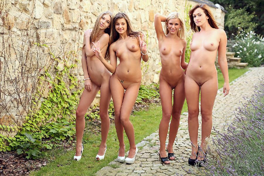 nude abby and maria