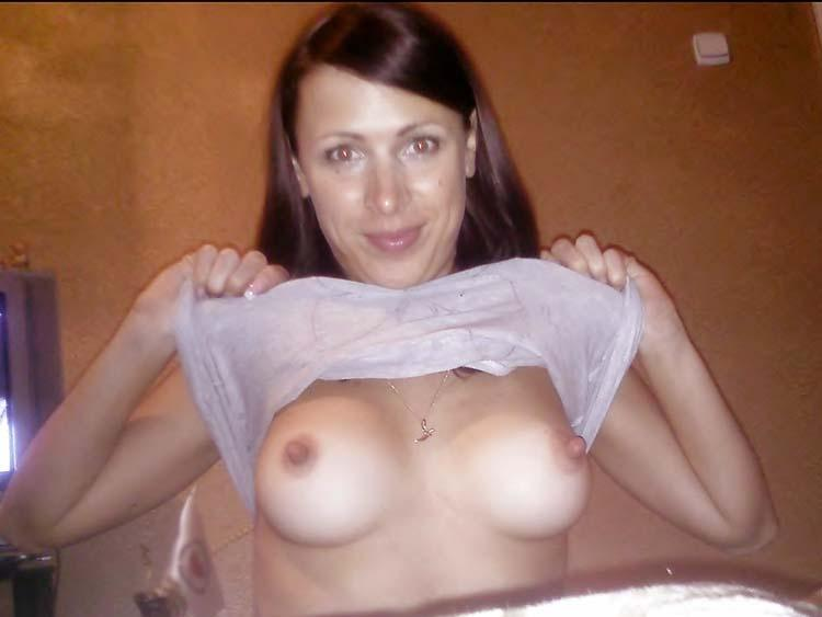 Amateur with tasty nipples - 1