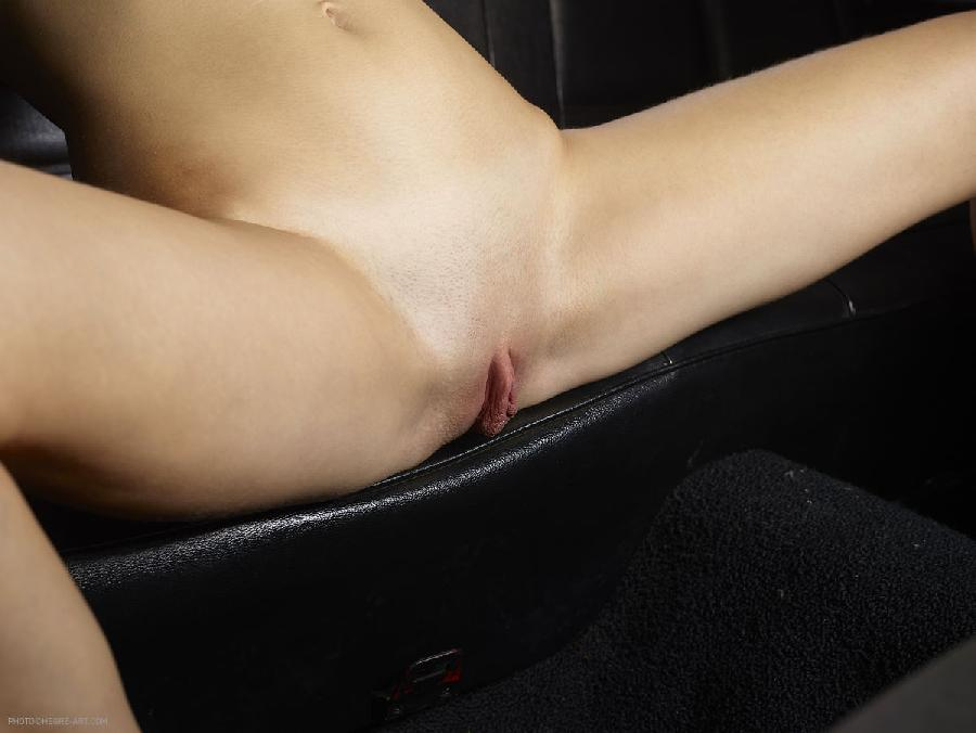 Naked girl in car - Gaby. Part 1 - 8
