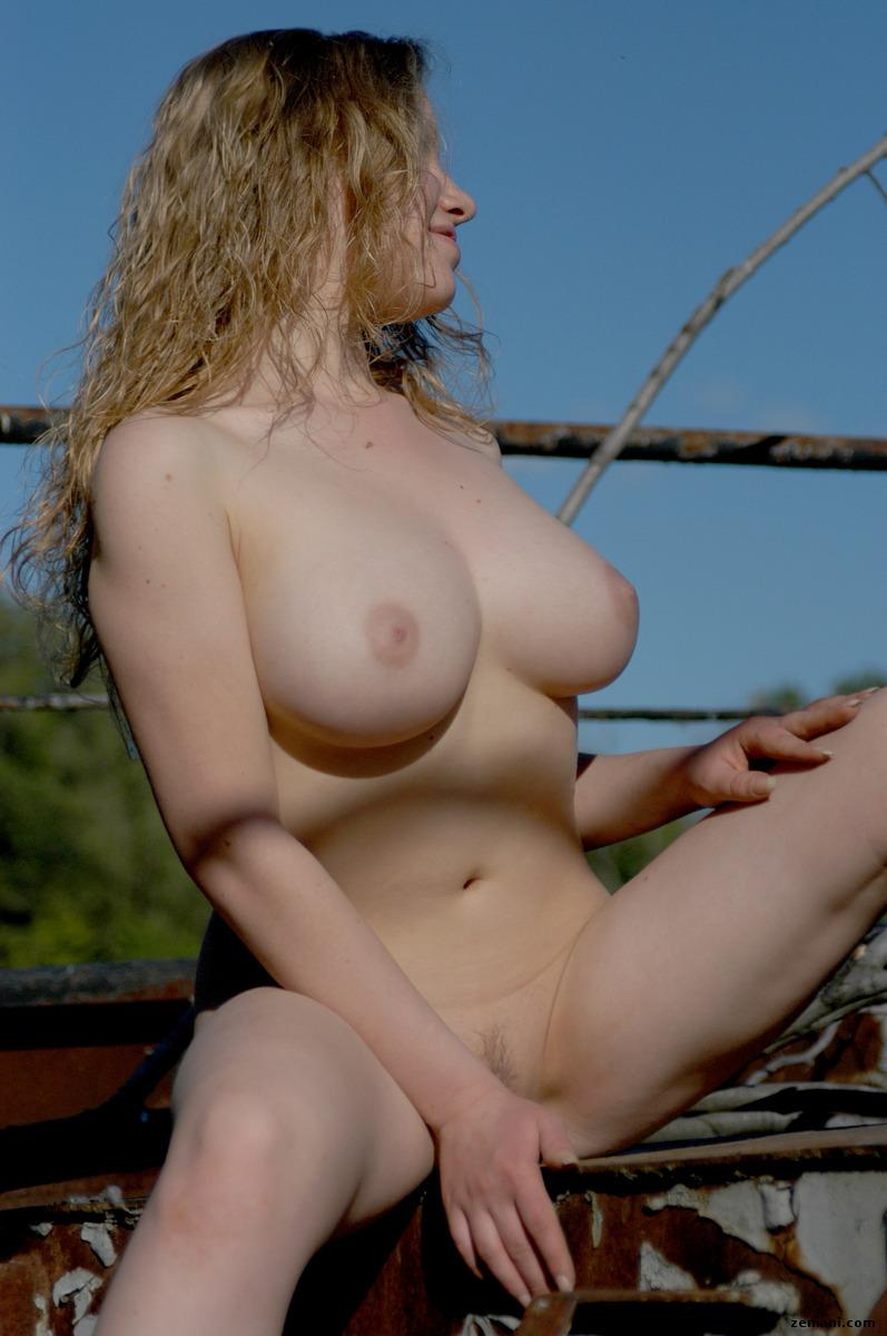Naked girl with beautiful breasts - Dashka - 10