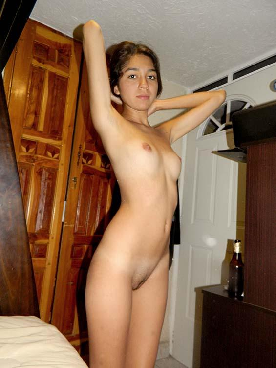 Young girls possing naked