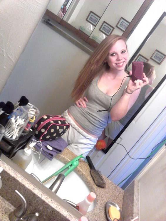 Hot teen naked girls skin and blonde or redhead