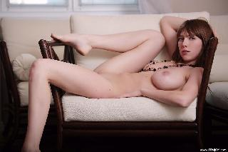 Naked redhead with perfect body - Valerie