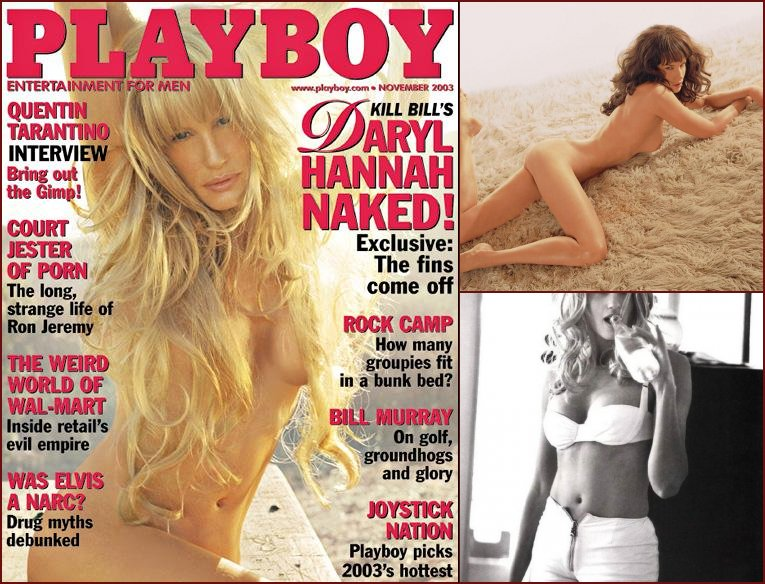 Daryl Hannah in Playboy Magazine 2003 - 2003