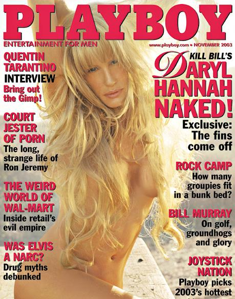 Daryl Hannah in Playboy Magazine 2003 - 1