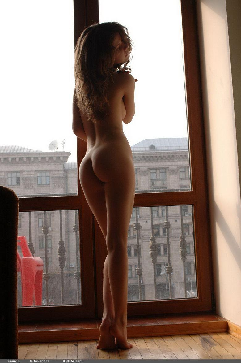 Naked girl at window - Inna - 5