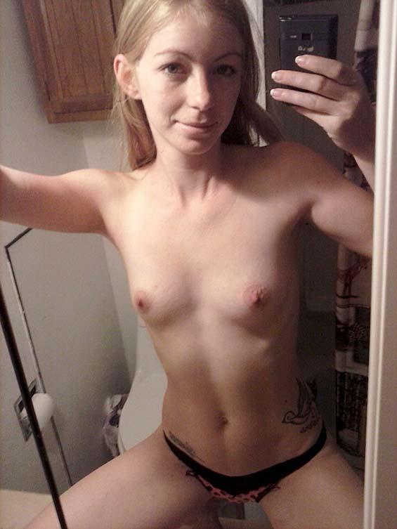 Nude Skinny selfies girls