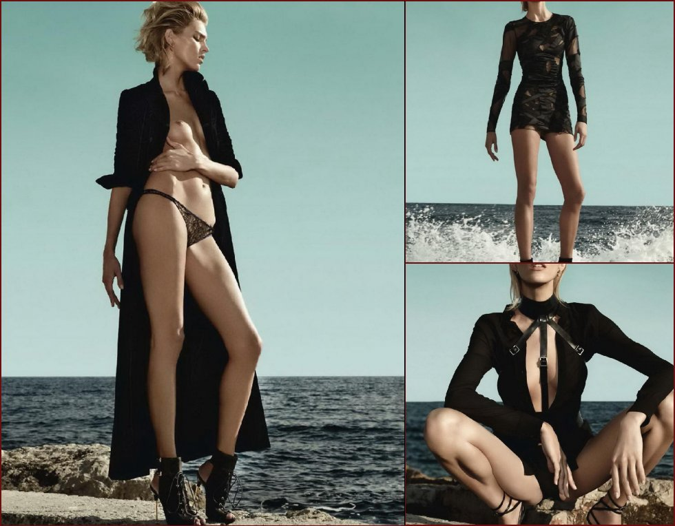 Photoshoot with Anja Rubik - 3