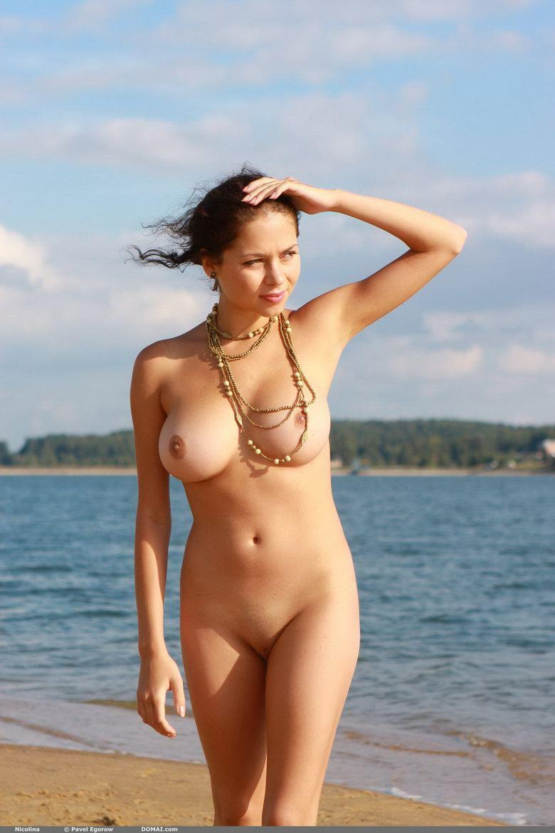 Naked girl with beautiful boobies - Nicolina - 10