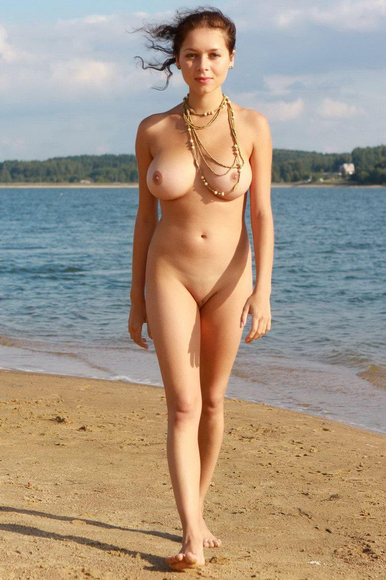Naked girl with beautiful boobies - Nicolina - 8