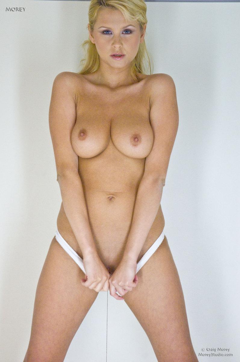 Busty blonde in wardrobe - Zoe McDonald. Part 2 - 4