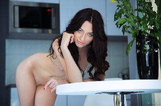 Amazing brunette with beautiful pink pussy - Zsanett Tormay